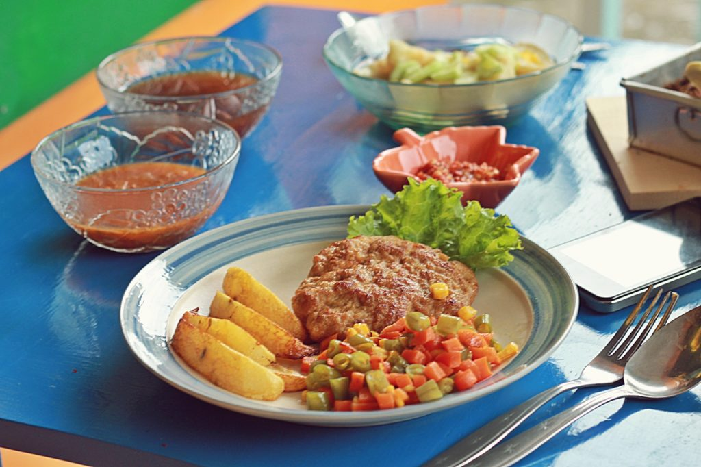 gaco's cafe and dessert catering malang -Chicken Steak-