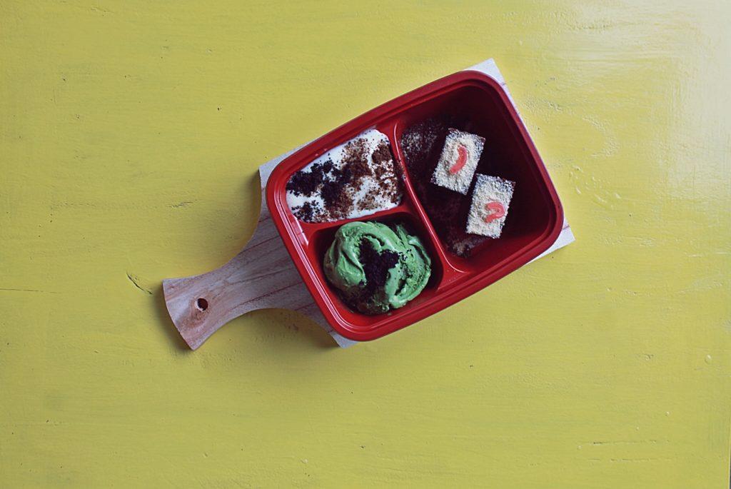 gaco's cafe and dessert catering malang -Ice Cream Bento-