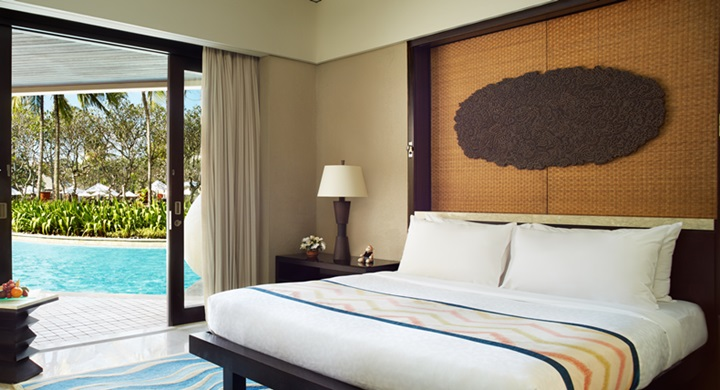 Conrad Bali - resort room