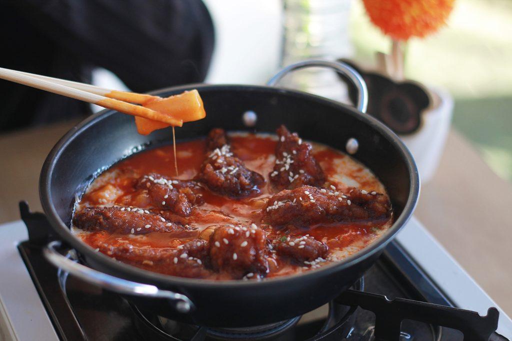 Kimchi Story - Tteopoki Chicken mozzarella