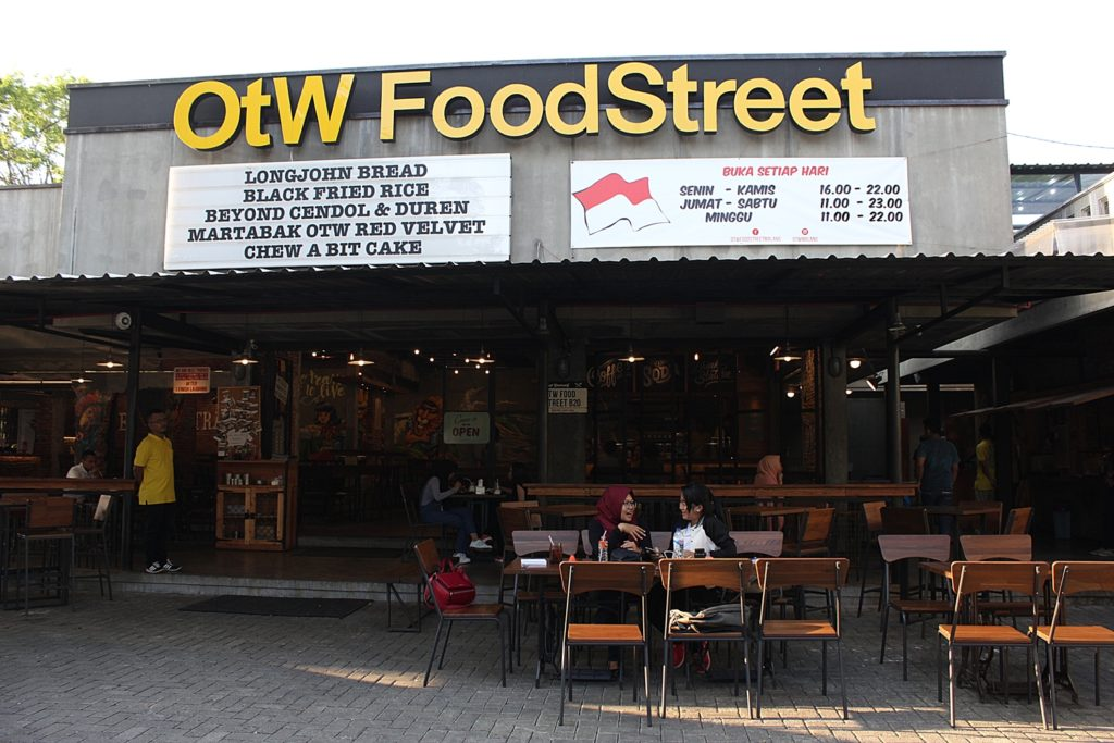 OTW Food Street -Outdoor Area-