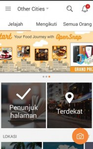 Open Snap - Foody Floody