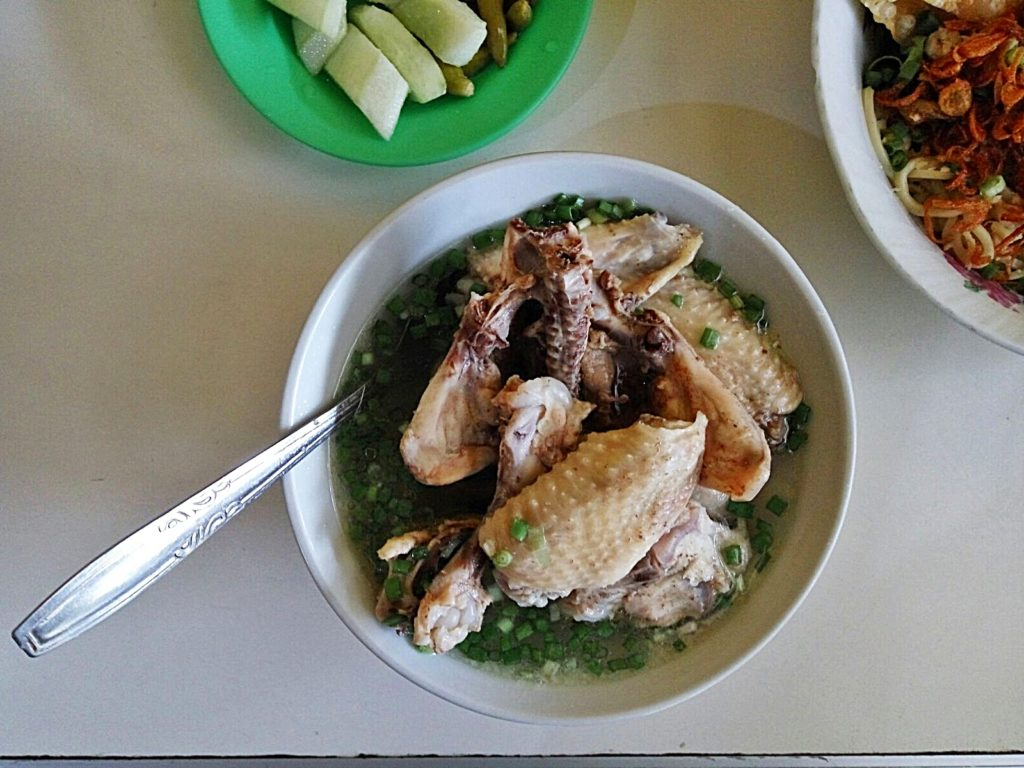 Pangsit Mie Ayam Tan -Bakso-