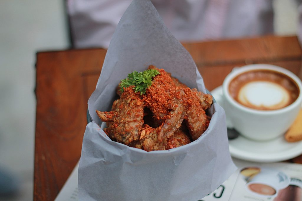 My Kopi O! Indonesian Bistro - Chicken Wings Spicy Garlick