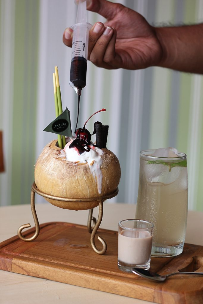 AKALPA CAFE MALANG -Coconut Refresher-