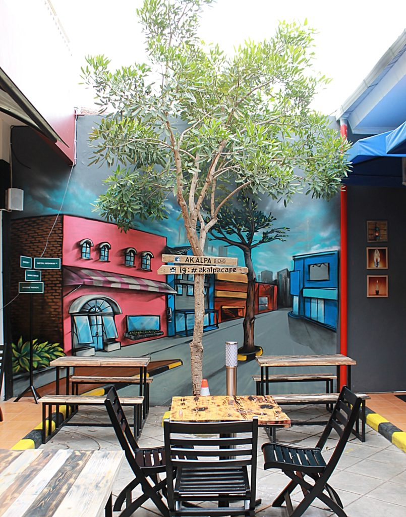 AKALPA Cafe Malang -Decoration favorite spot-