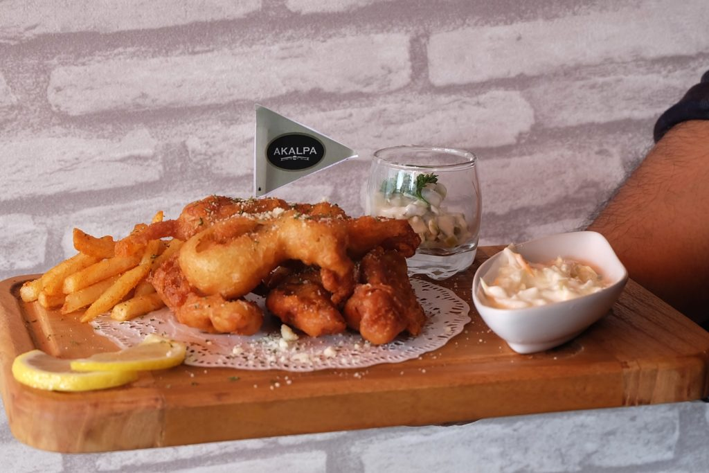 AKALPA Cafe Malang -Fish n Chips-