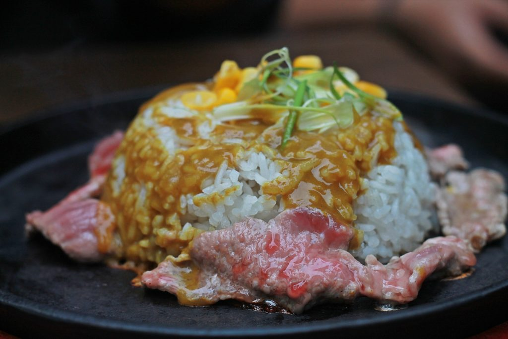 Hungry Up! Malang Curry Beef Rice