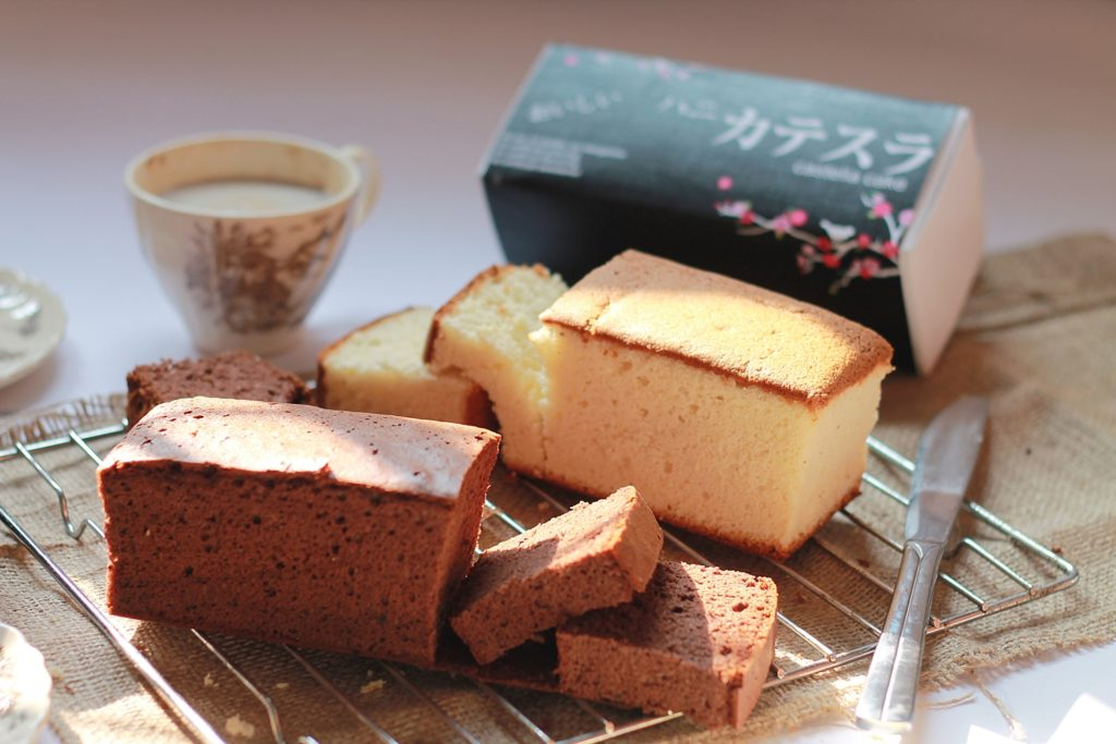 Jajanan Idul Fitri - Japanese Cotton Cake Shine Chip Cookies Malang