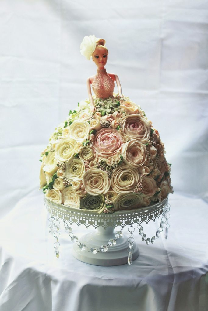 Korean Flowers 3D Tart Barbie 2