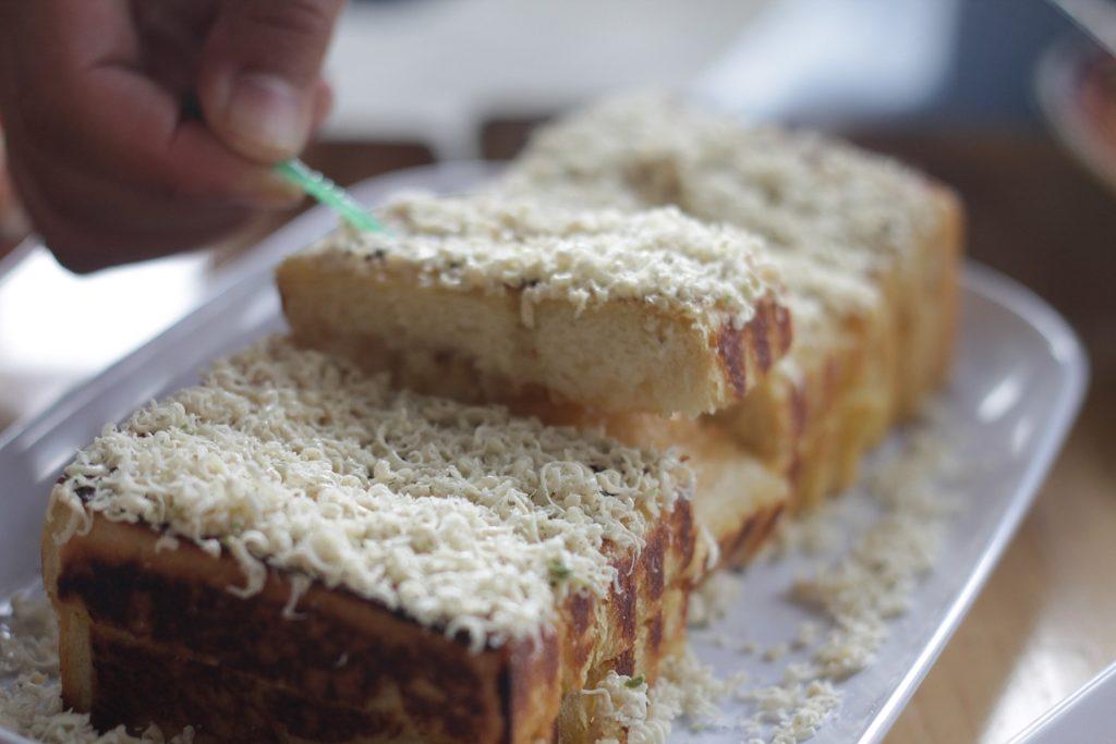 Bang Nas - Roti Panggang Tiramisu