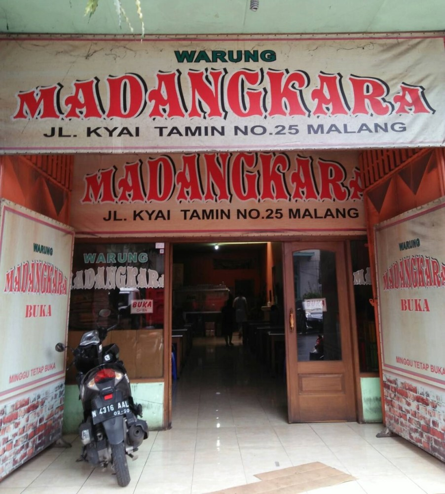 Warung Madangkara Malang