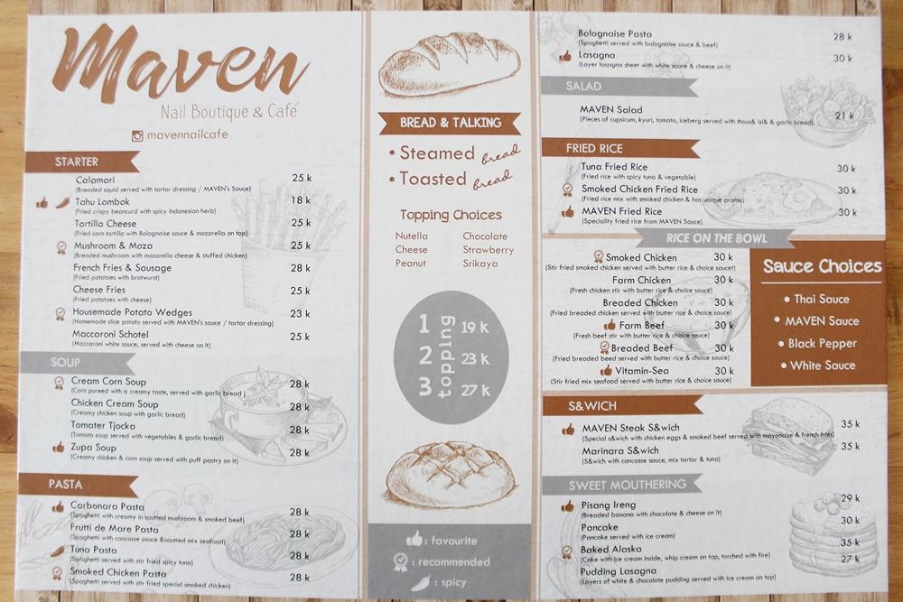 Maven Nail Cafe Malang
