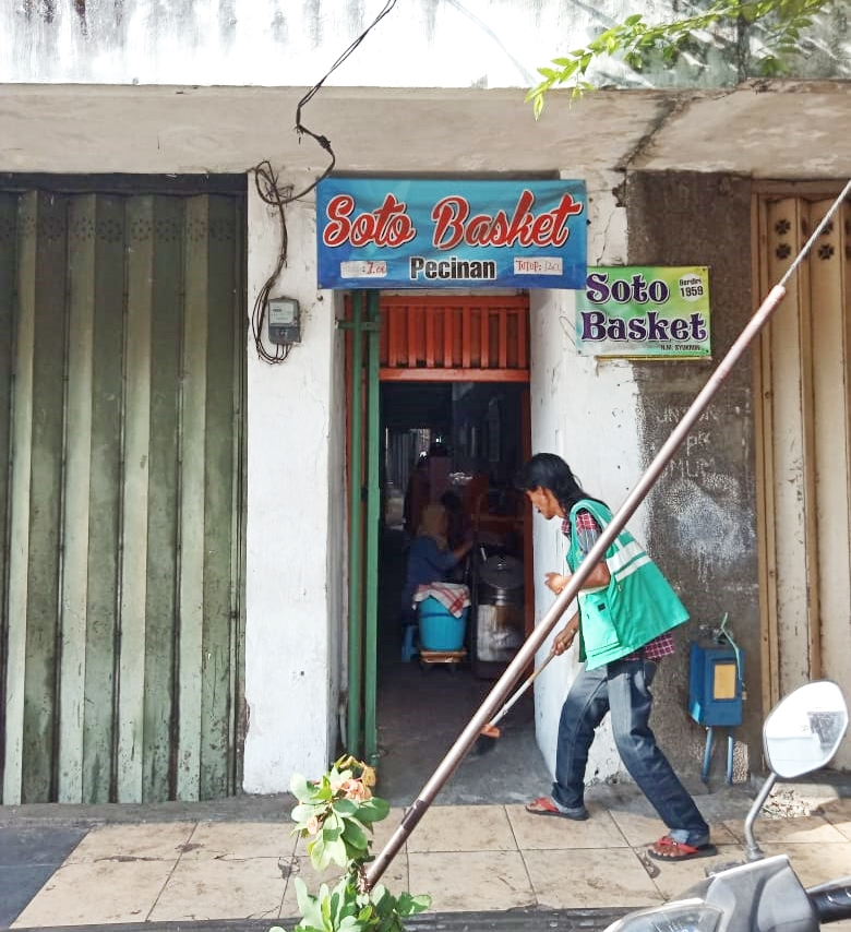 Soto Basket Pecinan Malang