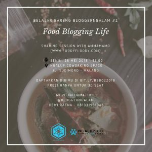 ammamamo foodyfloody for Blogger Ngalam